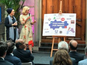 Coalitions for Impact with dutch minister Sigrid Kaag